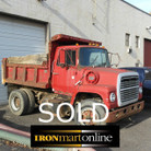 1980 Ford L9000 Single Axle Dump
