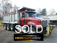 2005 Granite Mack‏ Tri Axle Dump used for sale