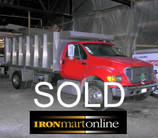 2001 Ford F650 XLT Super Duty Single Axle Dump used for sale