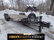 2011 Walton 7 SS1420T 14,000 GVWR Ton Tilt Trailer, in very good condition.
