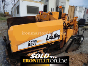 Leeboy 8500 low deck paver in very good condition for Leeboy motor grader for sale