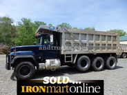 2000 R Model Mack Tri Axle Dump Truck used for sale