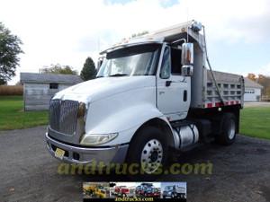 International 8600 Single Axle Dump with Big Horsepower