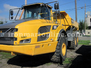 Two Used 2012 Volvo A35F 35-Ton Articulated Haul Trucks For Sale