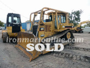 Used Caterpillar D6H II Dozer sold