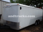 Used 20ft Enclosed Landscape Trailer Haulmark for sale