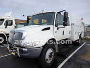 2007 International 4300 Crew Cab Water Utility Body w Compressor