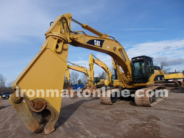 Cat 330 dl with demolition genesis gxp660r shear for Demolition wood for sale