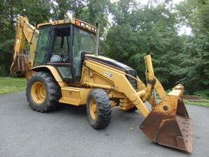 2002 Cat 420D Backhoe loader 4x4