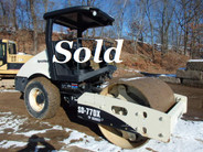 Ingersoll Rand SD77DX Vibratory Single Smooth Drum Roller