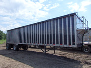 2008 Peerless 45ft 97 yard Walking Floor Mulch Trailer