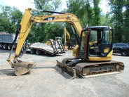 2004 Cat 308C CR Blade Hydraulic Thumb