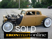 34 Ford 5 Window Coupe Chopped Channeled True Hot Rod used for sale