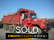 SOLD 1973 Mack Tandem R-Model Tipper