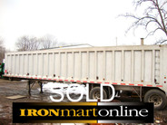 2004 Ravens 42ft Frameless 78yrd End Dump Trailer used for sale