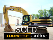 2004 Cat 345BL One Owner 4977hrs used for sale