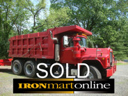 SOLD Mack RD686SX Tandem Axle Dump