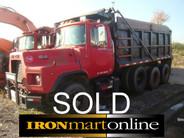 D Model Tri Axle Dump Truck (Sold)