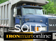 2005 Mack Tri Axle Dump Truck used for sale
