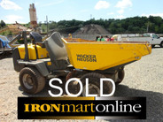 Wacker Neuson 3001 Dumper used for sale