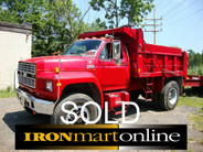 1988 F 800 Dump Body Ford Diesel Single Axle