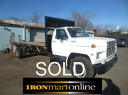 Ford F700 Flatbed Non-CDL