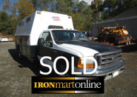 "Ford F-550 Service Body Truck with 201"" Wheel Base used for sale"