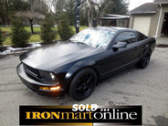 2008 Ford Bullitt Mustang, in very good condition.