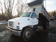 GMC Topkick Single Axle Dump Non-CDL used for sale