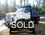 Chevrolet Kodiak Single Axle Dump with Plow