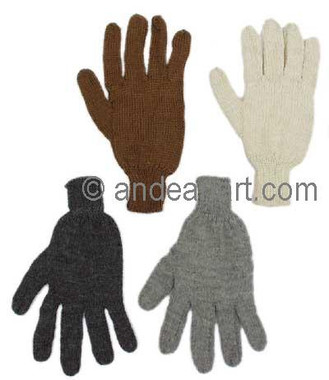 Solid Color Alpaca Gloves - 16783001