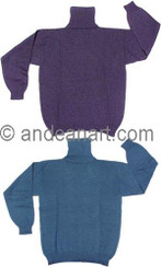 Turtle Neck Alpaca Sweater - 11261725