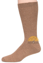 ORGANIC BABY Alpaca COPPER Socks - AndeanSun - Light Rose Brown - 16711712