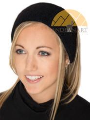 01. Baby Alpaca Ear Warmer Headband Ski / Snowboard / Sport - Alpaca Headband - US STOCK