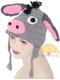 Crochet Children's Animal Hats for Babies / Children - Donkey - 16752225