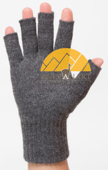 FINGERLESS Classic Blend Alpaca Gloves Made with 50% Alpaca Yarn by AndeanSun - US STOCK
