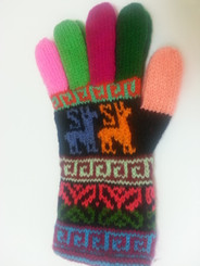 Huancavelica Alpaca Gloves for Adults - 16783111