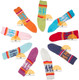 Crew Alpaca Socks with Alpaca Motif for Children - 16713402