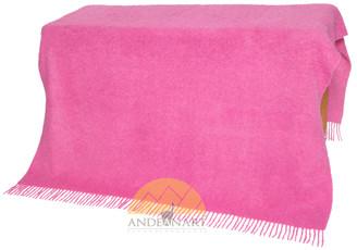 Alpaca Boucle Throw - Blanket - AndeanSun - US STOCK