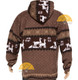 Alpaca Motif Heavyweight Full-Zip Hoodie Jacket - FAUX Alpaca 16264001