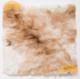 "Large Baby Alpaca Fur Pillow Cover 16"" x 16"" - Mixed Colors - 16728006"