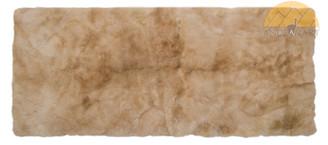 Alpaca Fur Runner Rug   Beige   72161001