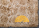 Alpaca Fur Rug - Alpaca Diamond Shape - 72161002BG
