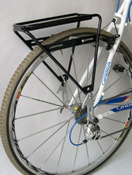 Sherpa Rear Rack 700c/29 in. non Disk: For bikes with 700c/29 in. wheels and  V brake or cantilever brakes.