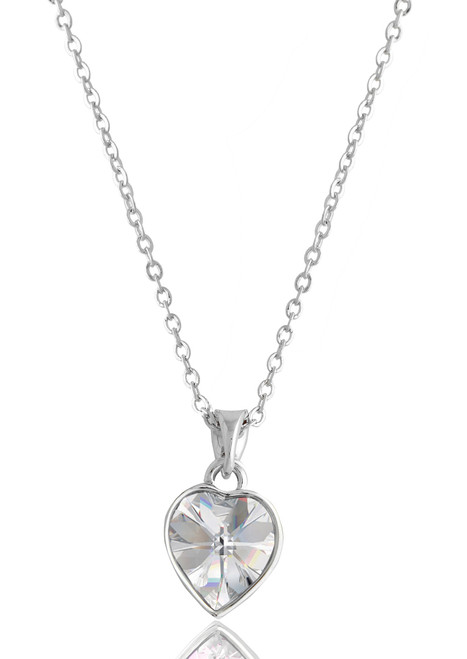 amp image pendant crystal rhodium wishes swarovski set clear diamond