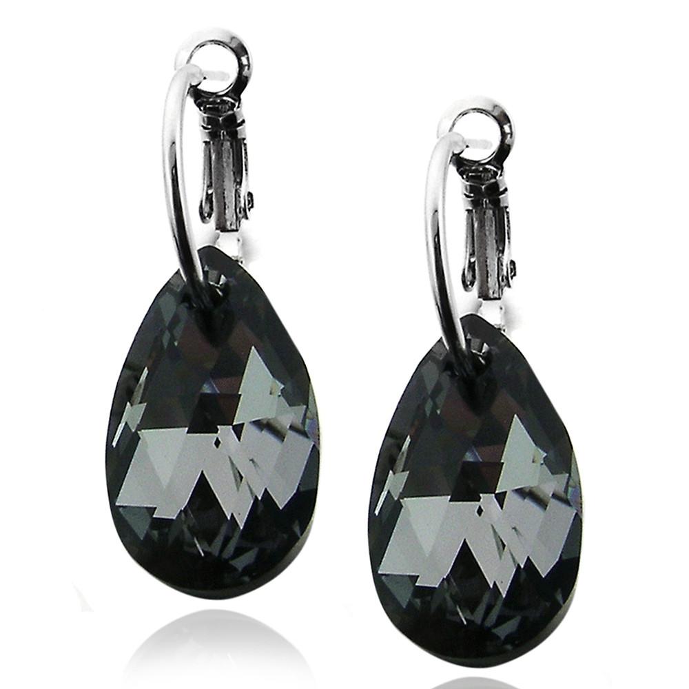 Swarovski Black Diamond Earrings Topearrings