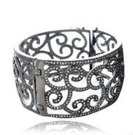 Swirl Filigree Cuff Bracelet