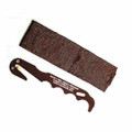 Strap Cutter, NSN 4240-01-570-0319, USMC Issue, with Coyote Brown Sheath