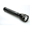 SKILCRAFT Aluminum Flashlight, Black, Requires 2D Batteries, NSN 6230-01-513-3306