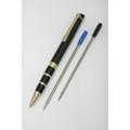 Executive Twist Pen - Medium Point, Blue Metallic Barrel, NSN 7520-01-451-2276